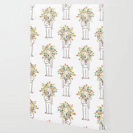 I bring flowers Wallpaper