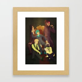 at your service Framed Art Print