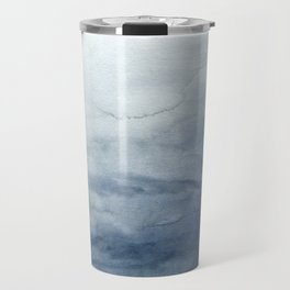 Indigo Abstract Painting | No.2 Travel Mug