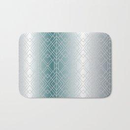 Silver Decor Bath Mat