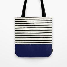 Navy x Stripes Tote Bag