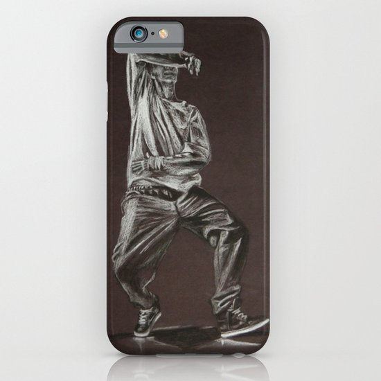 Black and White Drawing iPhone & iPod Case