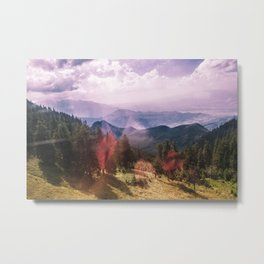 Summon the energies and they'll materialize Metal Print