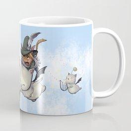 Solaria and the Musical Moogle Flight Coffee Mug