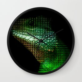 Digital Scales Wall Clock