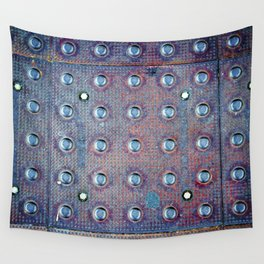 Urban Steel Texture Wall Tapestry