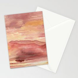 Pink Moment in Ojai Stationery Cards