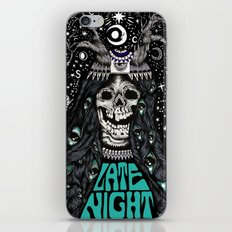 LATE NIGHT iPhone & iPod Skin