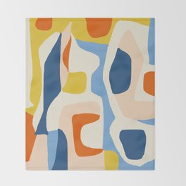 Me & Mine #abstract #painting Throw Blanket