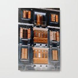 balcon Metal Print