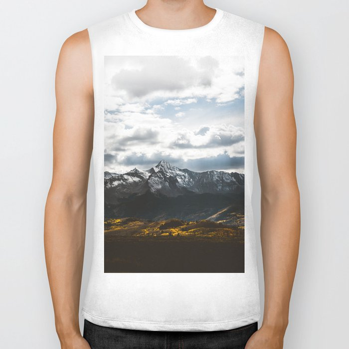 Lets get lost #society6 #mountains Biker Tank