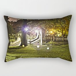 Central Park, NYC - HDR Rectangular Pillow