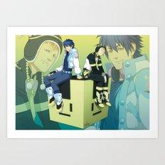Bunny Cube Art Print