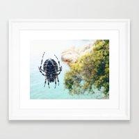 spider Framed Art Prints featuring Spider by Bor Cvetko