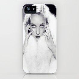 Classic Carole Lombard iPhone Case