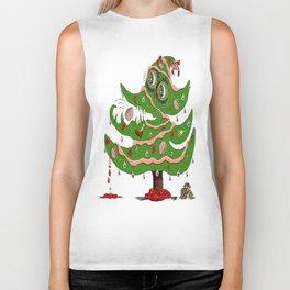 Zombie Christmas Tree Biker Tank
