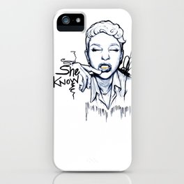 #STUKGIRL Danielle iPhone Case