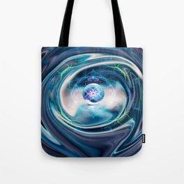 Chrome Spin Tote Bag