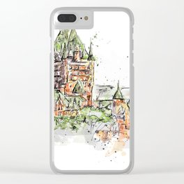 Quebec Clear iPhone Case