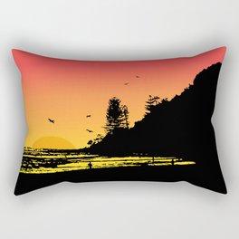 Burleigh beach Rectangular Pillow