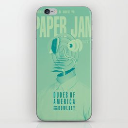 Paper Jam '15 I by Taylor Hale iPhone Skin
