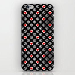 I love bitcoin iPhone Skin