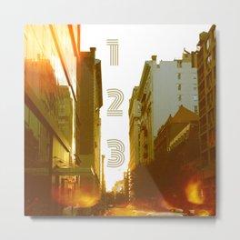 123 NYC Metal Print