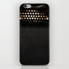 Typewriter iPhone Skin
