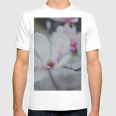 Sweet & Delicate MEDIUM Mens Fitted Tee White