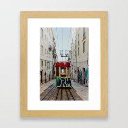 The Gloria Funicular Framed Art Print