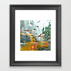'CLASSIC NYC TAXI' Framed Art Print