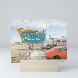 Bombay Beach Drive-in Mini Art Print