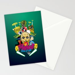 Pinball, Game of skill Stationery Cards