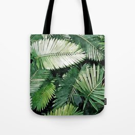Life is better with palm trees #painting Tote Bag