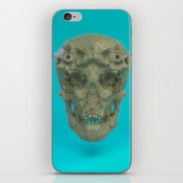 Skull Coral Reef iPhone Skin
