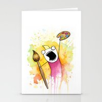 meme Stationery Cards featuring Meme by Olechka