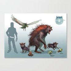 Pokemon-Zoroark Canvas Print