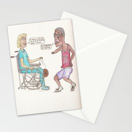 Pick-Up Game Stationery Cards
