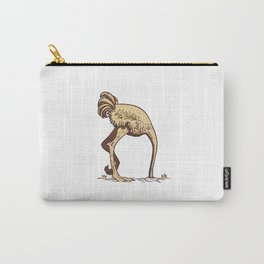 OSTRICH SAND Carry-All Pouch