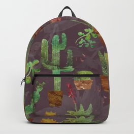 Cozy Cactus Backpack