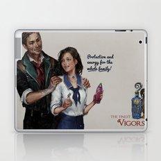 Infinite Vigor Poster Laptop & iPad Skin