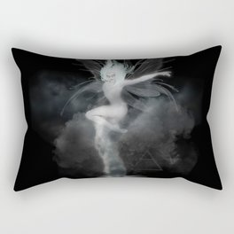 Air Witch - Elements Collection Art Print Rectangular Pillow