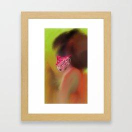 House Geisha Framed Art Print