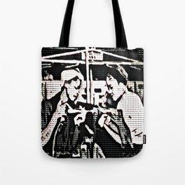 Black Rosie the Riveter Tote Bag