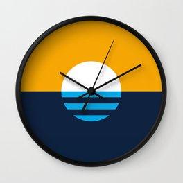 The People's Flag of Milwaukee Wall Clock