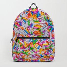 Dessert Rainbow Sprinkles Pattern Backpack