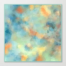 "Colored crystals . ""Sunbeams"" . Canvas Print"