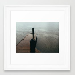 Dock II Framed Art Print
