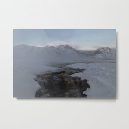 California Hot Spring Metal Print