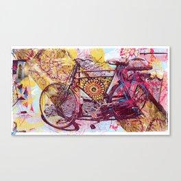 Voyage to Sammarkand Canvas Print